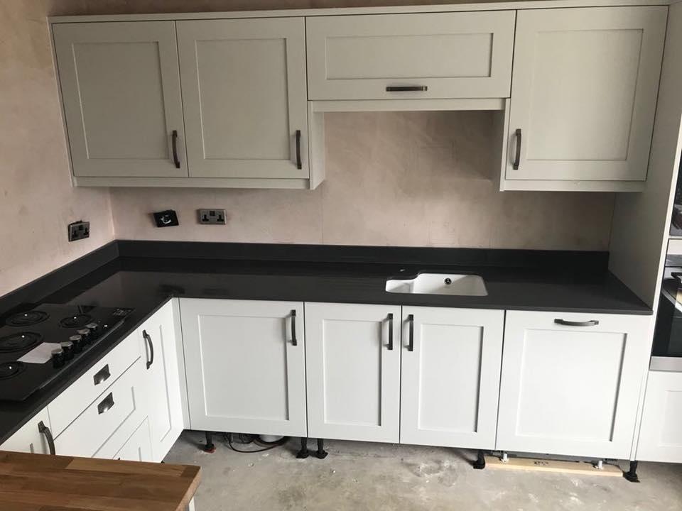Home Architec Ideas Black Granite Worktop Kitchen Ideas